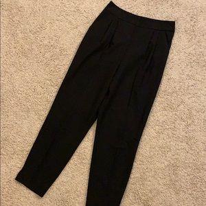 ASOS high waisted work pleated pants